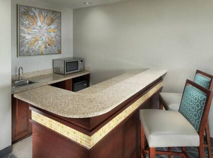 Suite Wetbar Area