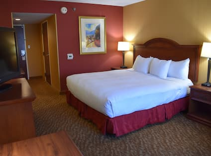 Accessible King Bed Guest Room