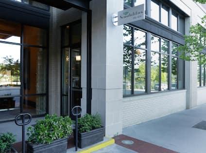 Sensibilities City Spa Entrance