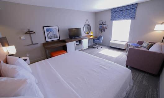Accessible King Sofa Room