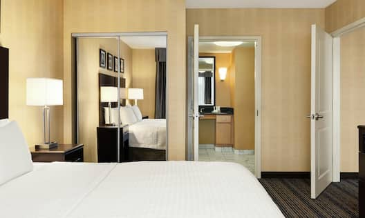 Accessible Suite Bedroom