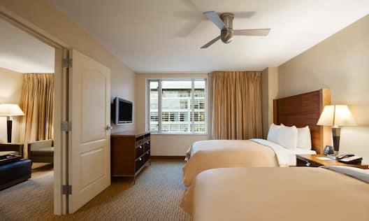 2 Doubles Bedroom