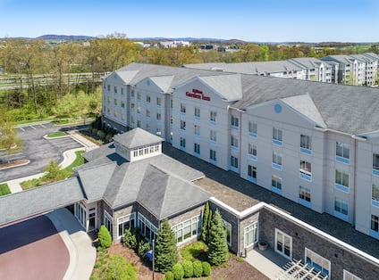 Hotel Exterior View from Drone