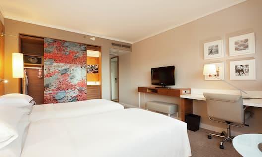 Twin Sky View Guest Bedroom