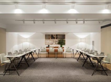 Alexandra Barcelona Curio Hotel Ballroom with Chairs and U-Shaped Tables, Forum B