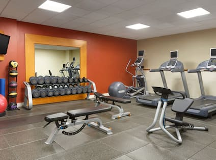 DoubleTree by Hilton Hotel Hartford - Bradley Airport, CT - Fitness Center