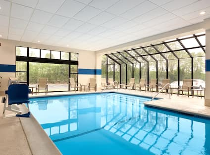 DoubleTree by Hilton Hotel Hartford - Bradley Airport, CT - Indoor Swimming Pool