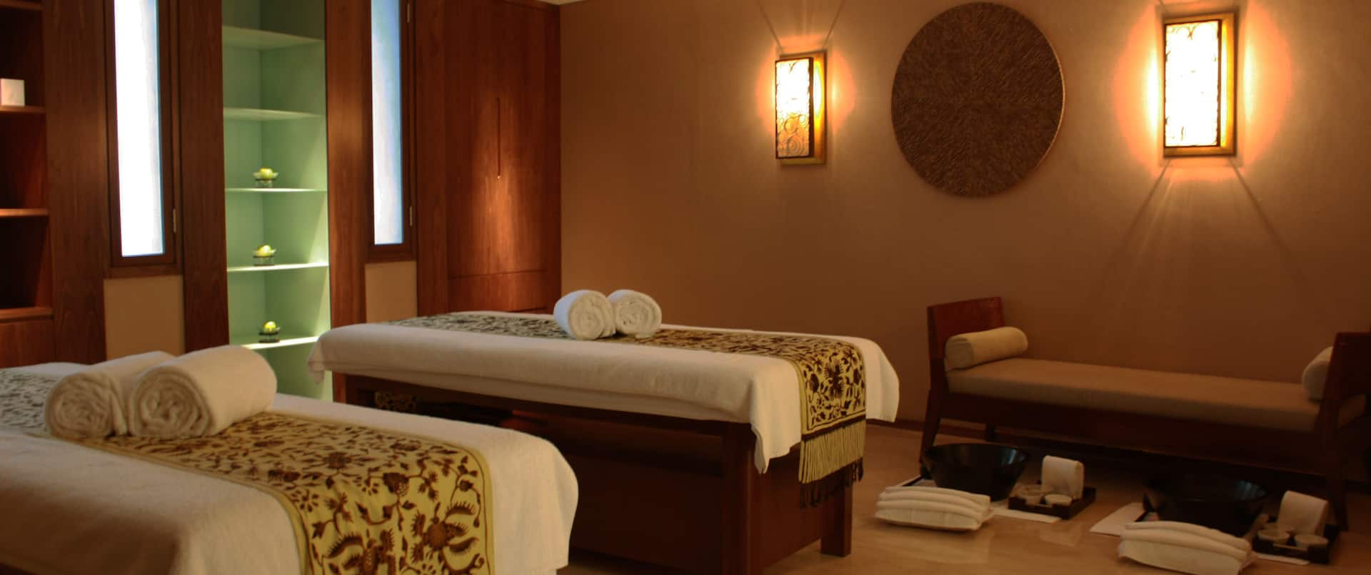 Spa With Massage Tables
