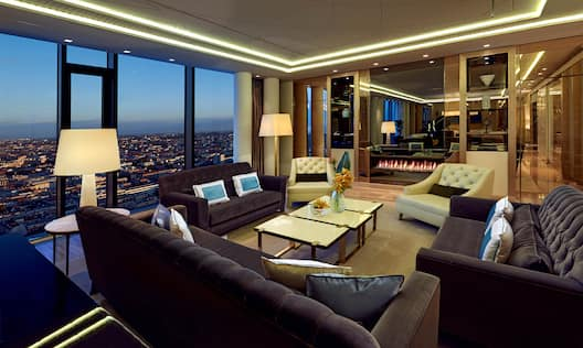 Presidential Suite with Fireplace
