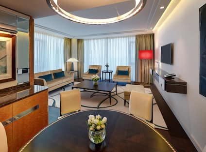Tower Suite Living Room