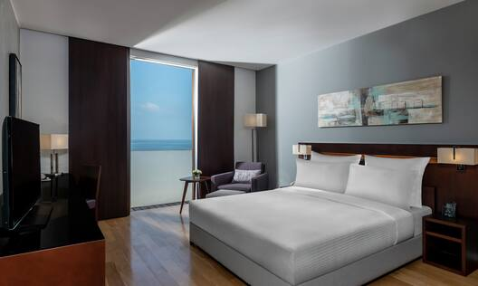 King Executive Bedroom with Sea View
