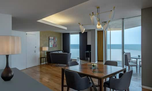 Presidential Suite Seating Area