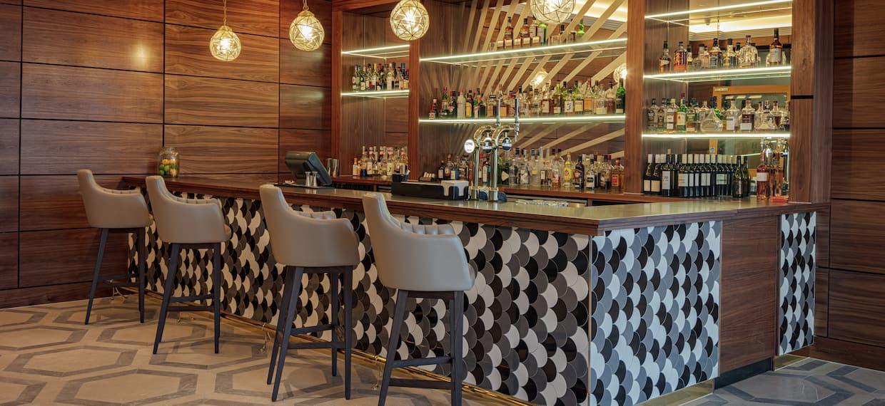 Bar Area with Chairs
