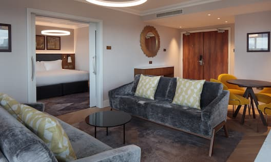 Sofa Area in Executive Suite