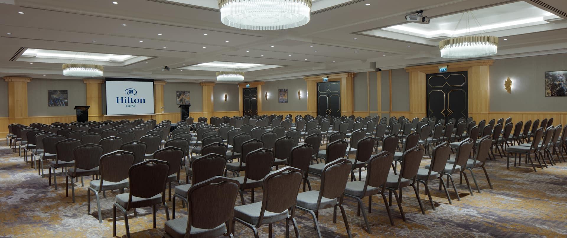 Meeting Room Chairs Setup