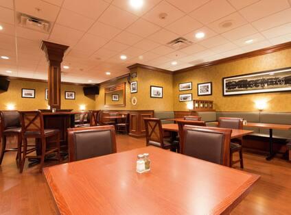 The Claddagh Irish Bar Seating Area