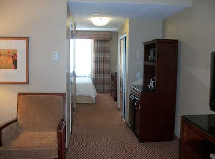 Junior Suite Room with bed and TV