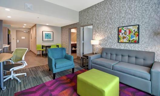 Bedroom Suite Living Area