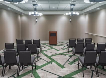 Meeting Space Lecture Setup