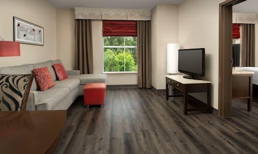 King Corner Living Area