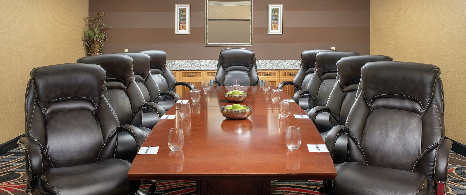 Boardroom with Seating for Ten