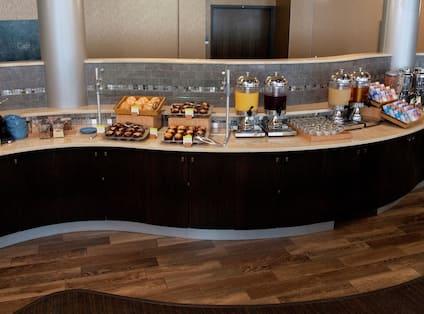 Breakfast Lobby Bar