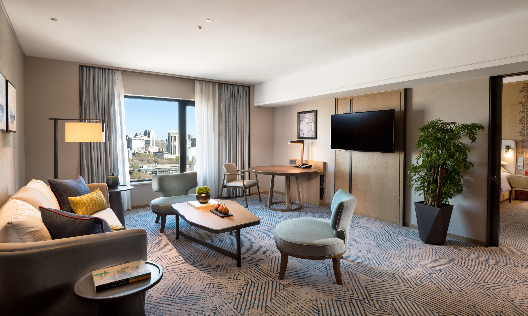 Deluxe Suite Living Room