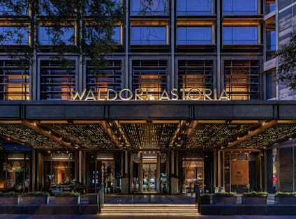 This distinctive hotel is in the heart of the Wangfujing area
