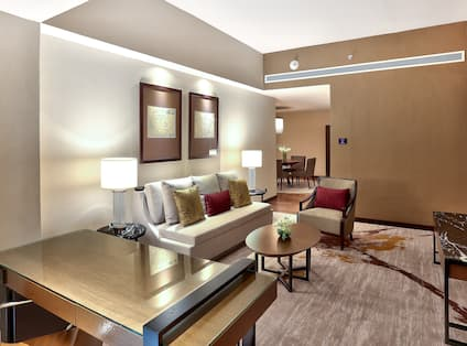 King One Bedroom Suite - Living Area