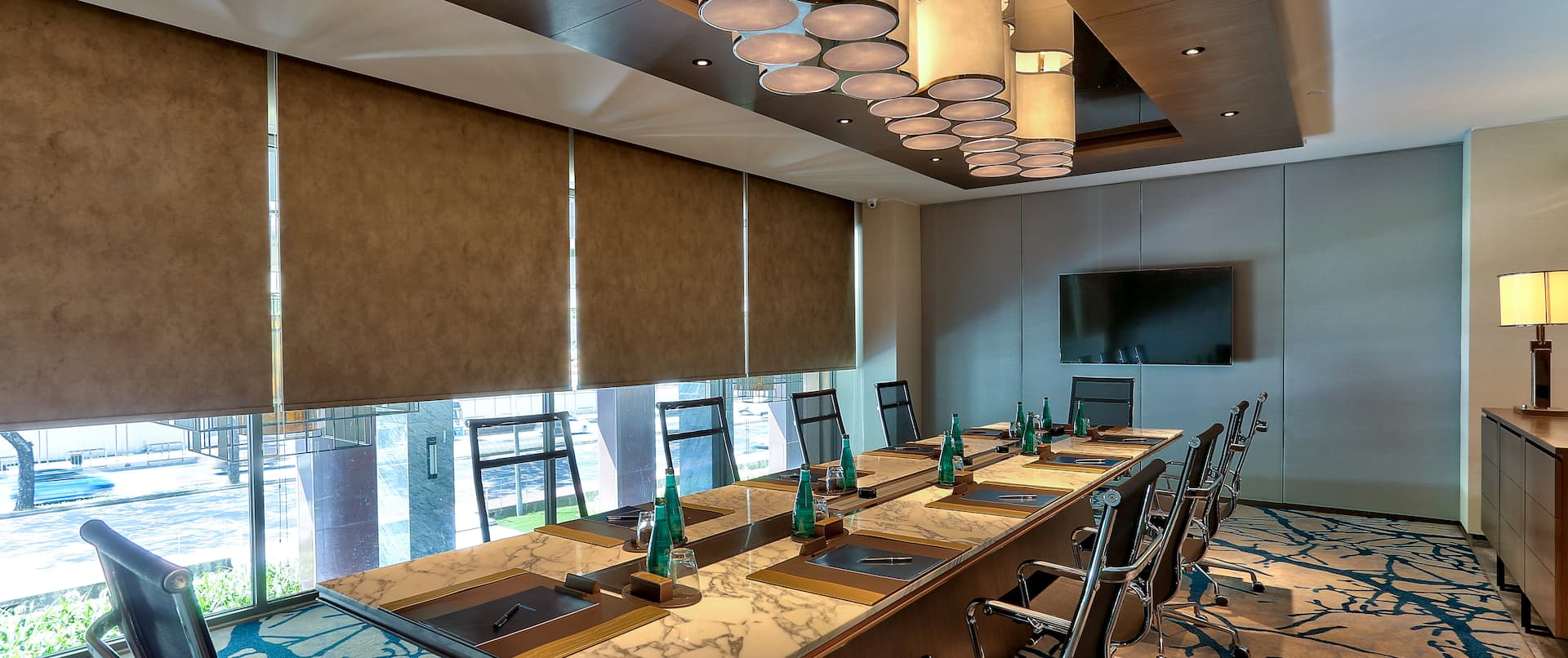 Meeting Room With Room Technology