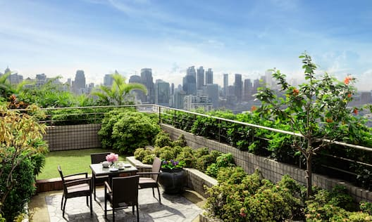 Daytime View of Executive Suite Terrace