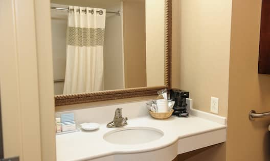 1 King Accessible Room with Bathtub