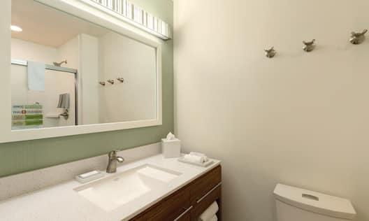 Home2 Suites by Hilton Bellingham Airport Hotel, WA - Bathroom Vanity
