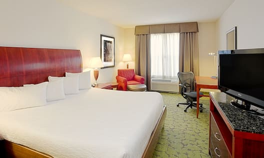 1 King Bed Accessible Guest Room