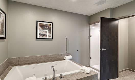 Presidential Suite Bathroom with Bathtub