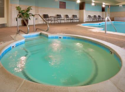 Indoor Whirlpool Area