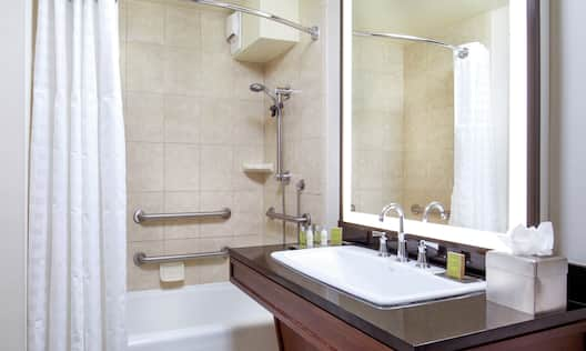 Accessible Bathroom with Tub