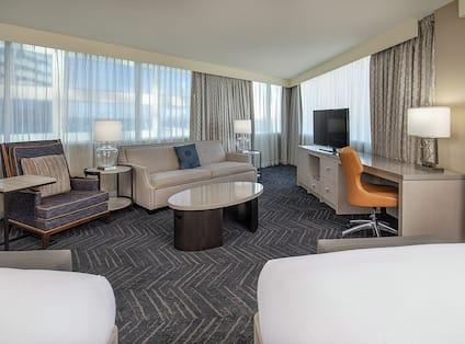 Two Queen Bed Junior Suite