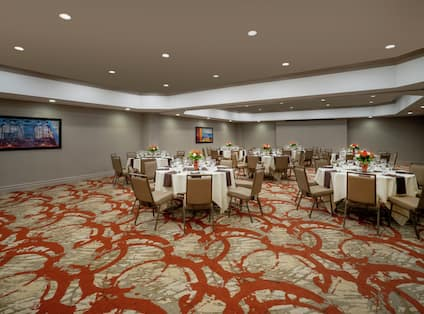 Meeting Room Setup Banquet Style
