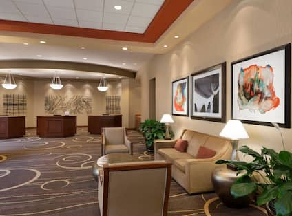 Hotel Front Desks and Lobby