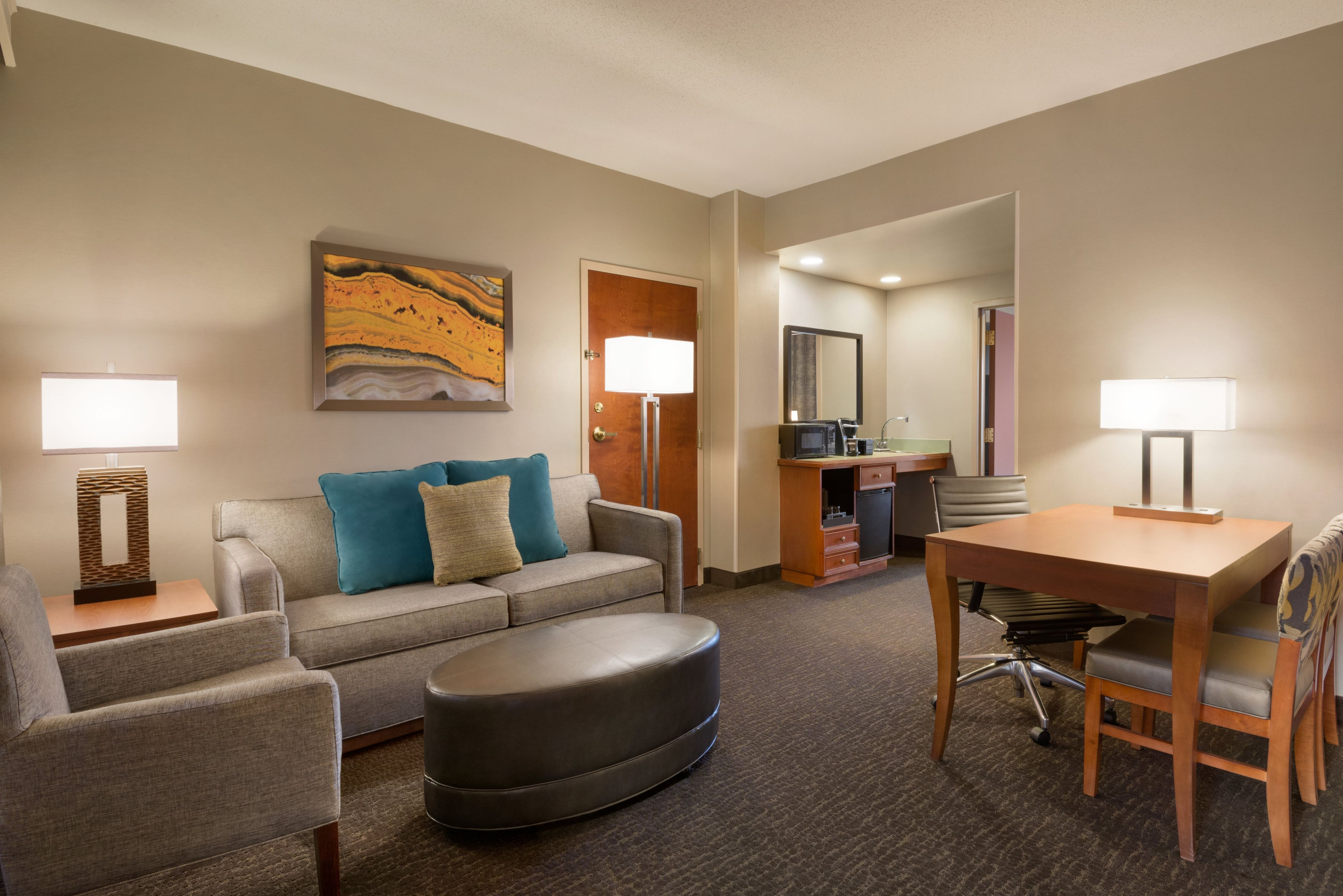 Accessible Guestroom Suite Parlor