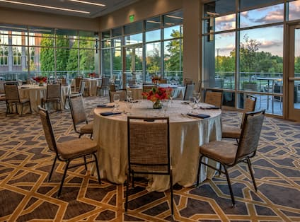 Rivers Ballroom with Banquet Seating