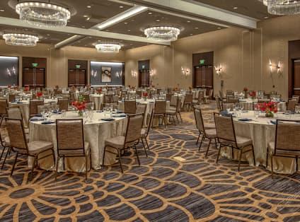 Meridian Ballroom with Banquet Setup