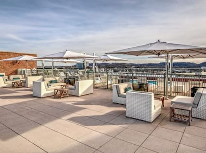 Skybar Rooftop Seating