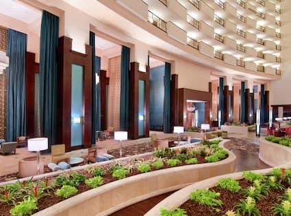 Expansive Atrium Lobby