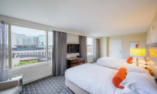Two Double, One Bedroom Presidential Suite