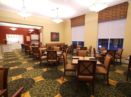 Great American Grill Dining and Seating Area