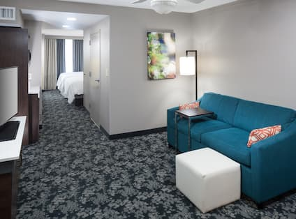 suite Living Room and TV
