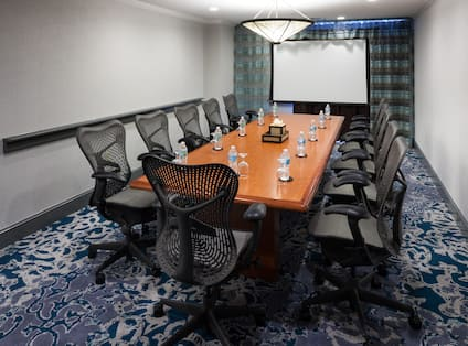 Conference Room Theatre set up