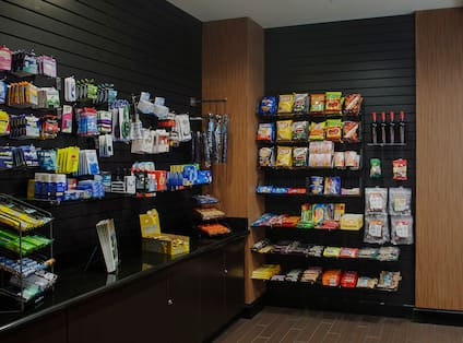 The Market Pantry Snack Wall and Refrigerator